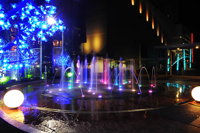 Dry Floor Fountain Music Water Dance Fountain Design Production