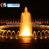 Outdoor Garden Colorful Music Dancing Water Fountain With LED Lights