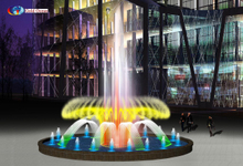 Dia.9m Round Shape Music Dancing Fountain