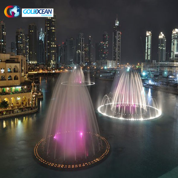 Stainless Steel 304 Material Outdoor Dancing Fountain
