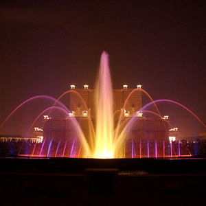 Programmable Control color changing water fountain