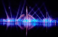 China Manufacturer DMX512 Lights Music Fountain Show