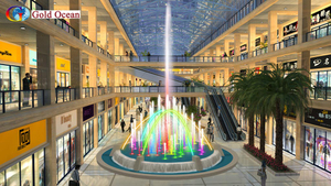 Dia.5m Indoor Building Decoration Music Fountain