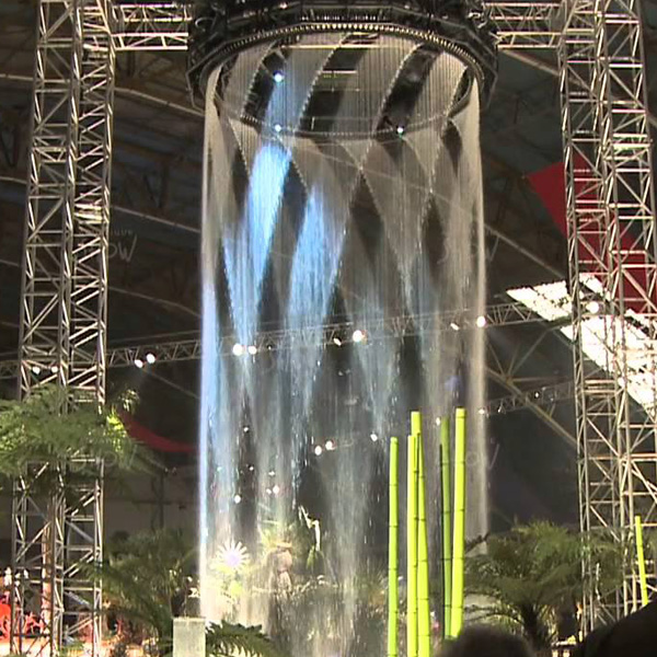 Indoor and Outdoor Graphical Artificial Digital Water Curtain