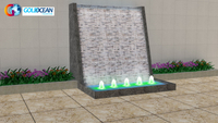 3*3m Static Water Fountain with Waterfall
