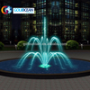 Easy Control Three Layer Flower Movable Portable Water Fountain