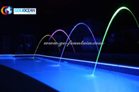 Various Free Design Dancing Music Jumping Jets Water Fountain for Pool Decoration