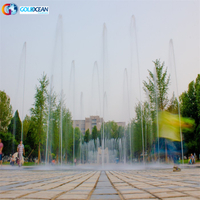 Outside Landscape Musical Dancing Floor Ground Outdoor Water Fountain