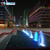 Colorful LED Lights Garden Water Music Fountain
