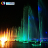 High Shooting Led Lighted Colorful Music Fountain