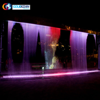 Outdoor Indoor Portable Digital Water Curtain
