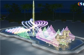 New Fountain Project in Dubai