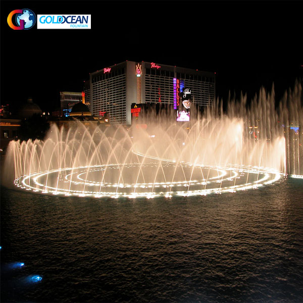 Chinese Factory Large Customized Music Fountain