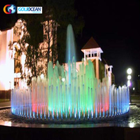 Chinese Factory Supply Round Shape Music Fountain