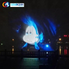FREE DESIGN Outdoor Large Lake Decoration 36*12m Water Screen Movie